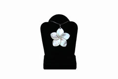 White Plumeria Necklace