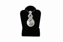 Mother of Pearl Large Twist Necklace