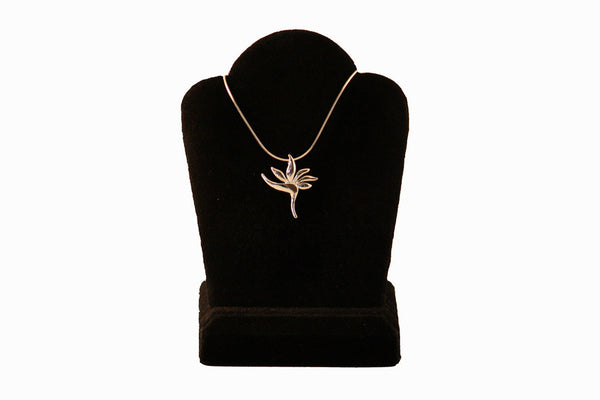 Jessicas gems sterling silver bird of paradise necklace sterling silver bird of paradise necklace aloadofball