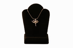 Sterling Silver Bird of Paradise Necklace