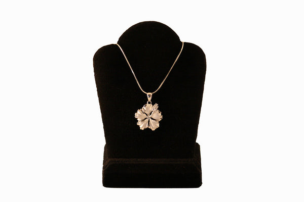 Jessicas gems sterling silver hibiscus with cz stamen necklace sterling silver hibiscus with cz stamen necklace aloadofball Choice Image