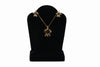 14K Gold Honu Necklace and Earring Set