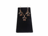 14K Gold Small Honu Necklace and Earring Set