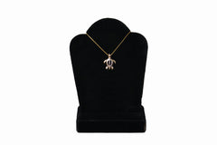 14K Gold Medium Honu Necklace