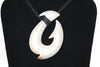 Fossilized Walrus Ivory Hawaiian Hook Necklace