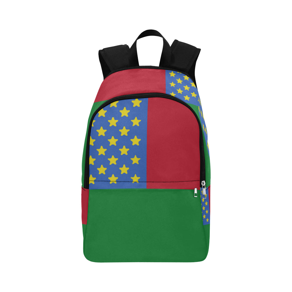 Ethiopia Bred Fabric Backpack for Adult