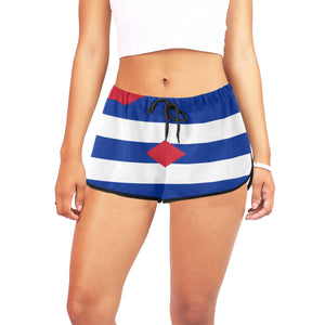 Cuba Born Women's Relaxed Shorts