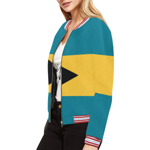 Bahamas Born Bomber Jacket for Women