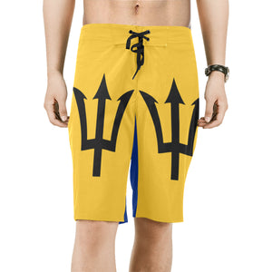 Barbados Born Men's Board Shorts