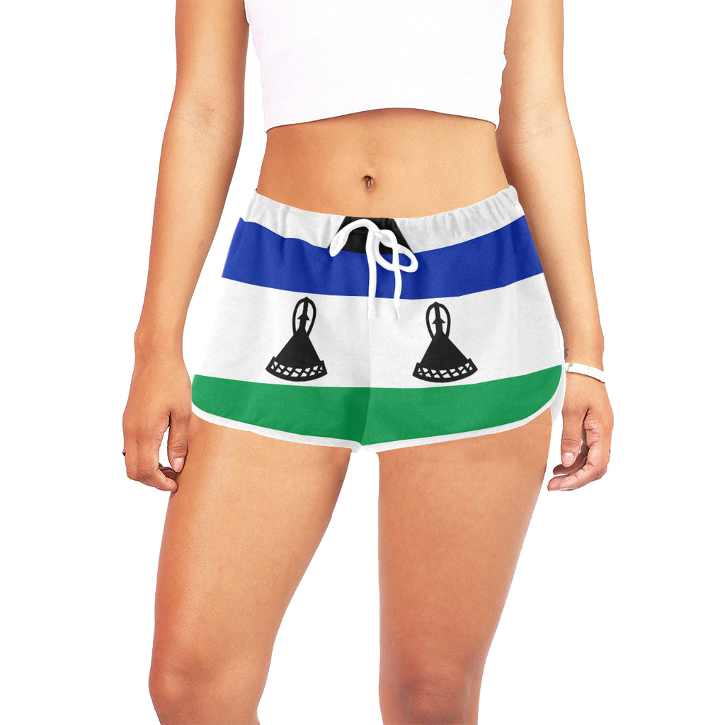 Lesotho Born Women's Relaxed Shorts