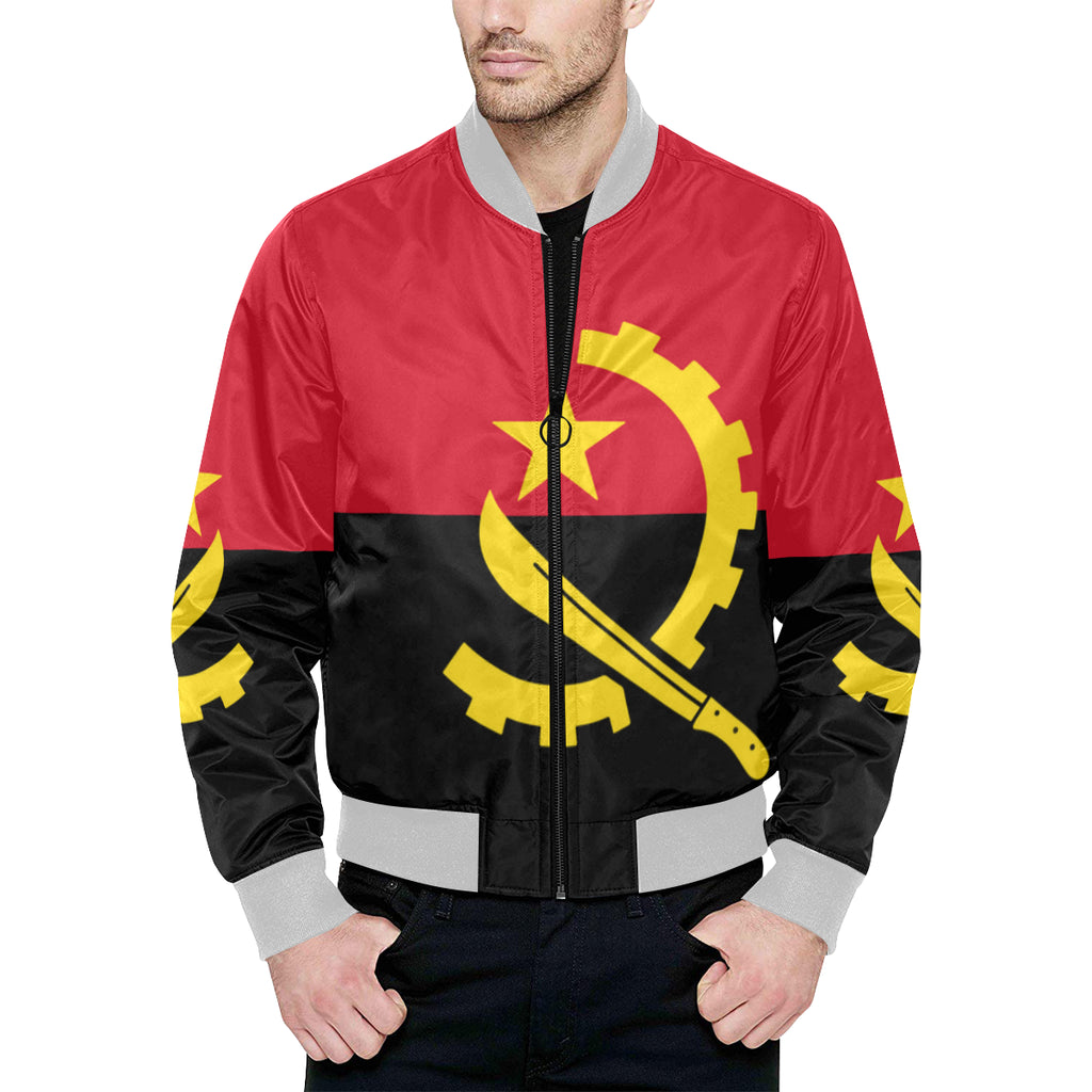 Angola Born Quilted Bomber