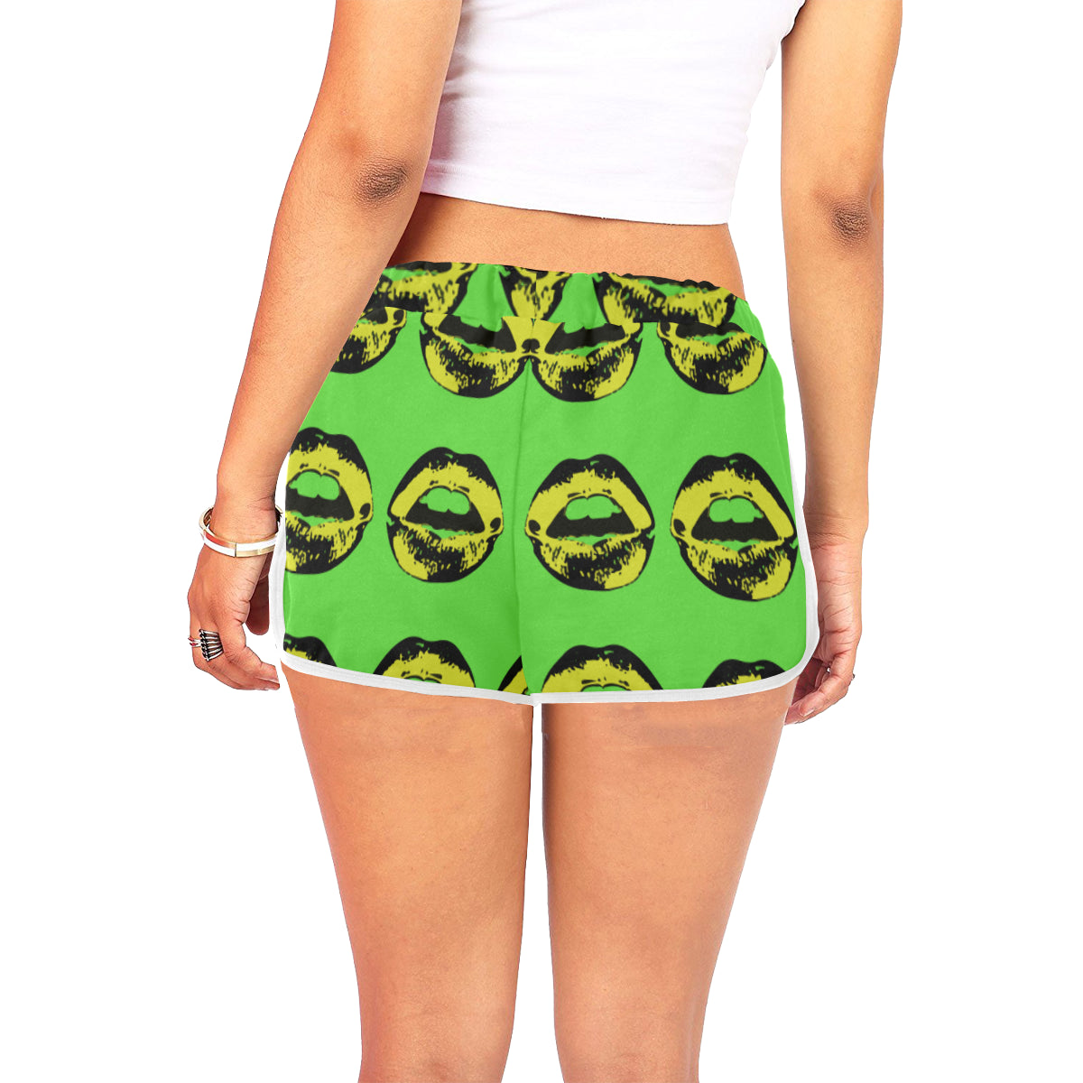 Jamaica Bred Kiss Women's Relaxed Shorts