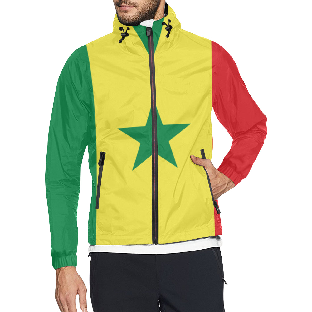 Senegal Born Windbreaker