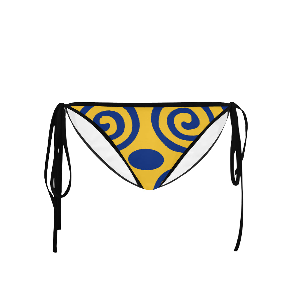 Barbados Ripe Mango Dwennimen Custom Bikini Swimsuit Bottom