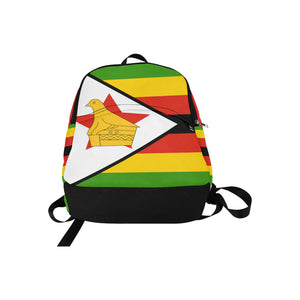 Zimbabwe Born Fabric Backpack