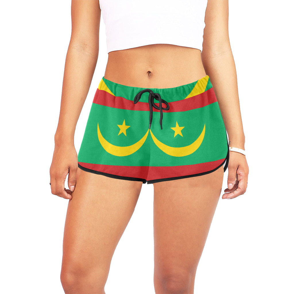Mauritania Born Women's Relaxed Shorts