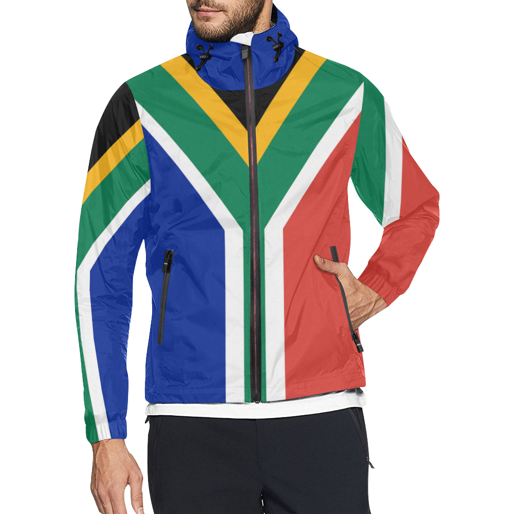 South Africa Born Windbreaker