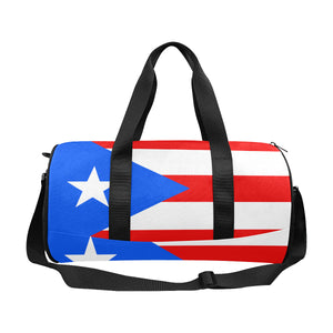 Puerto Rico Born Duffle Bag