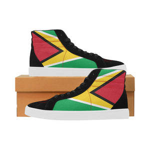 Guyana Born Capricorn High Top Casual Shoes for Men
