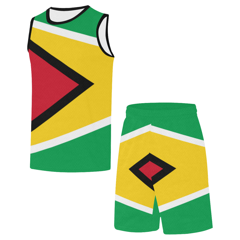 Guyana Born Rise+Defend Basketball Uniform