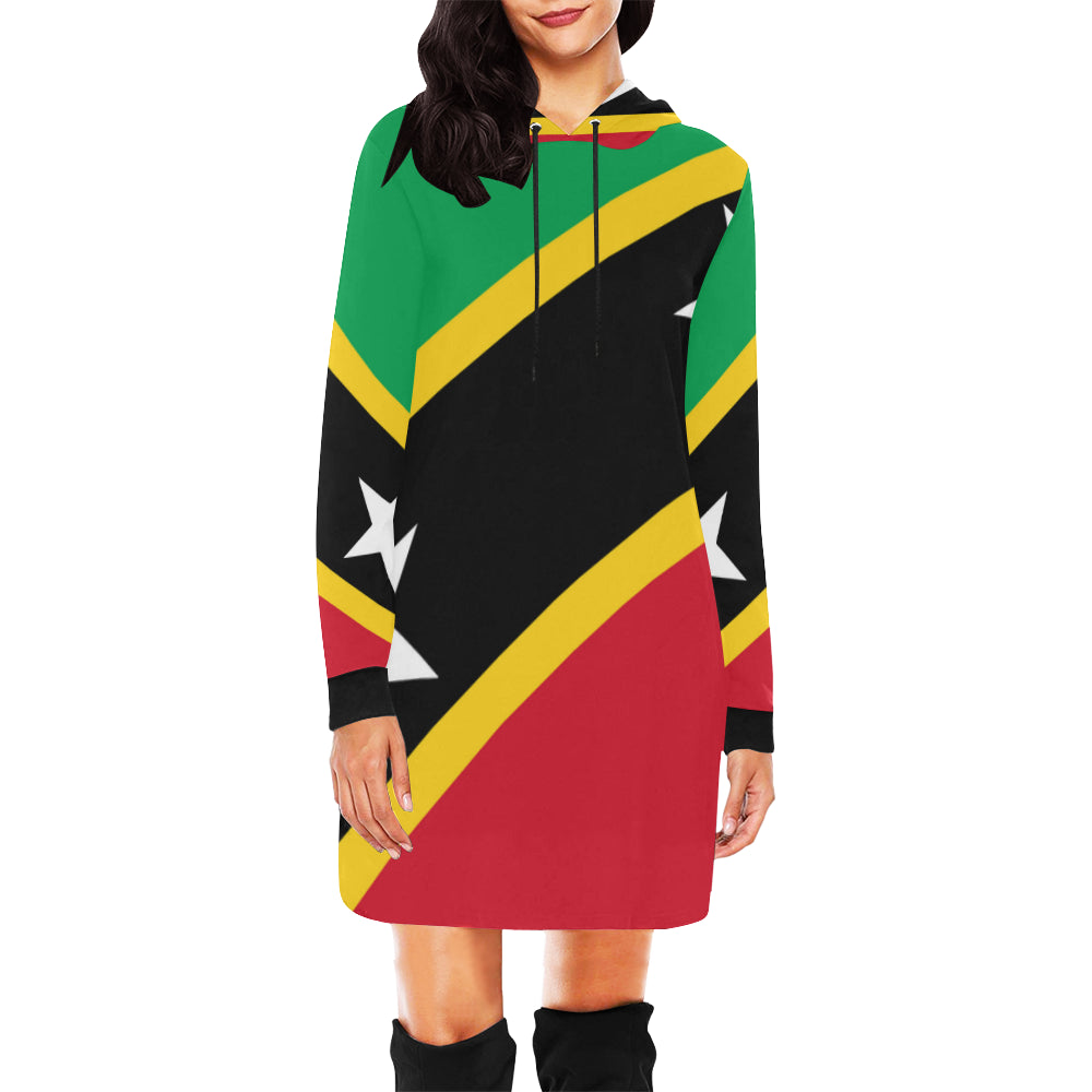 St. Kitts Hoodie Mini Dress