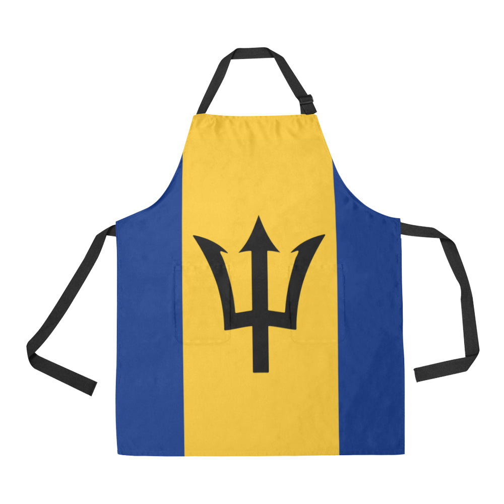 Barbados_born All Over Print Apron