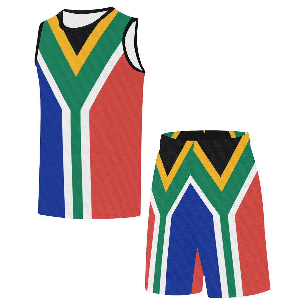 South Africa Born Rise+Defend Basketball Uniform