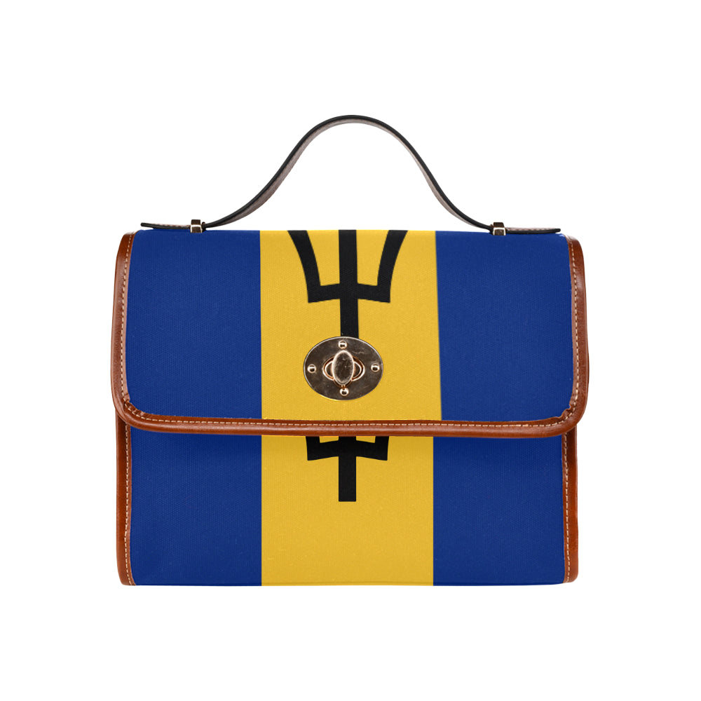 Barbados Born Waterproof Canvas Bag