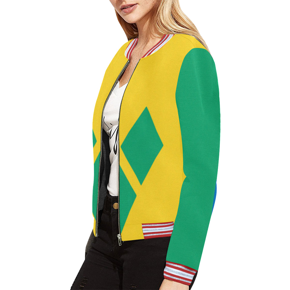 Saint Vincent Born Women's Bomber