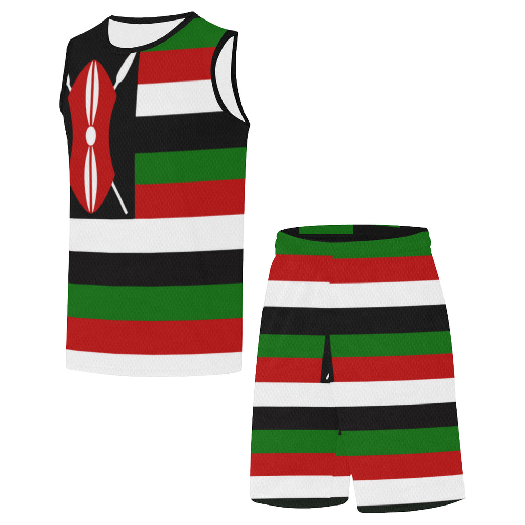 Kenya Bred SHIELD Rise+Defend Basketball Uniform