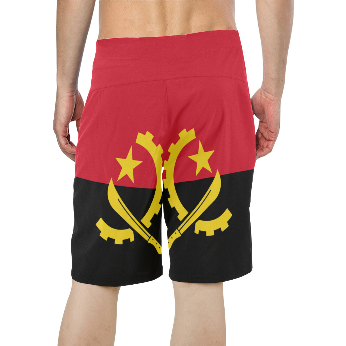Angola Born Men's  Board Shorts