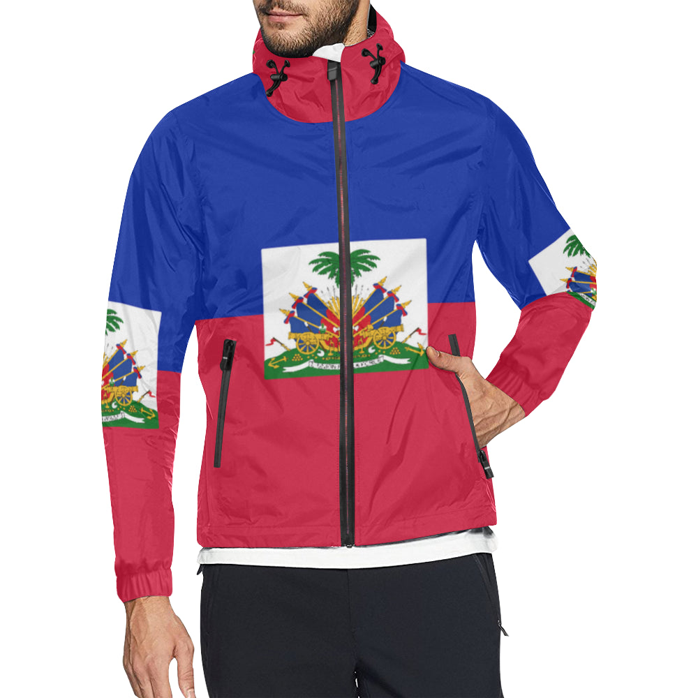 Haiti Born Windbreaker