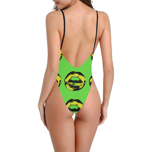 Jamaica Kiss Sexy Low Back One-Piece Swimsuit