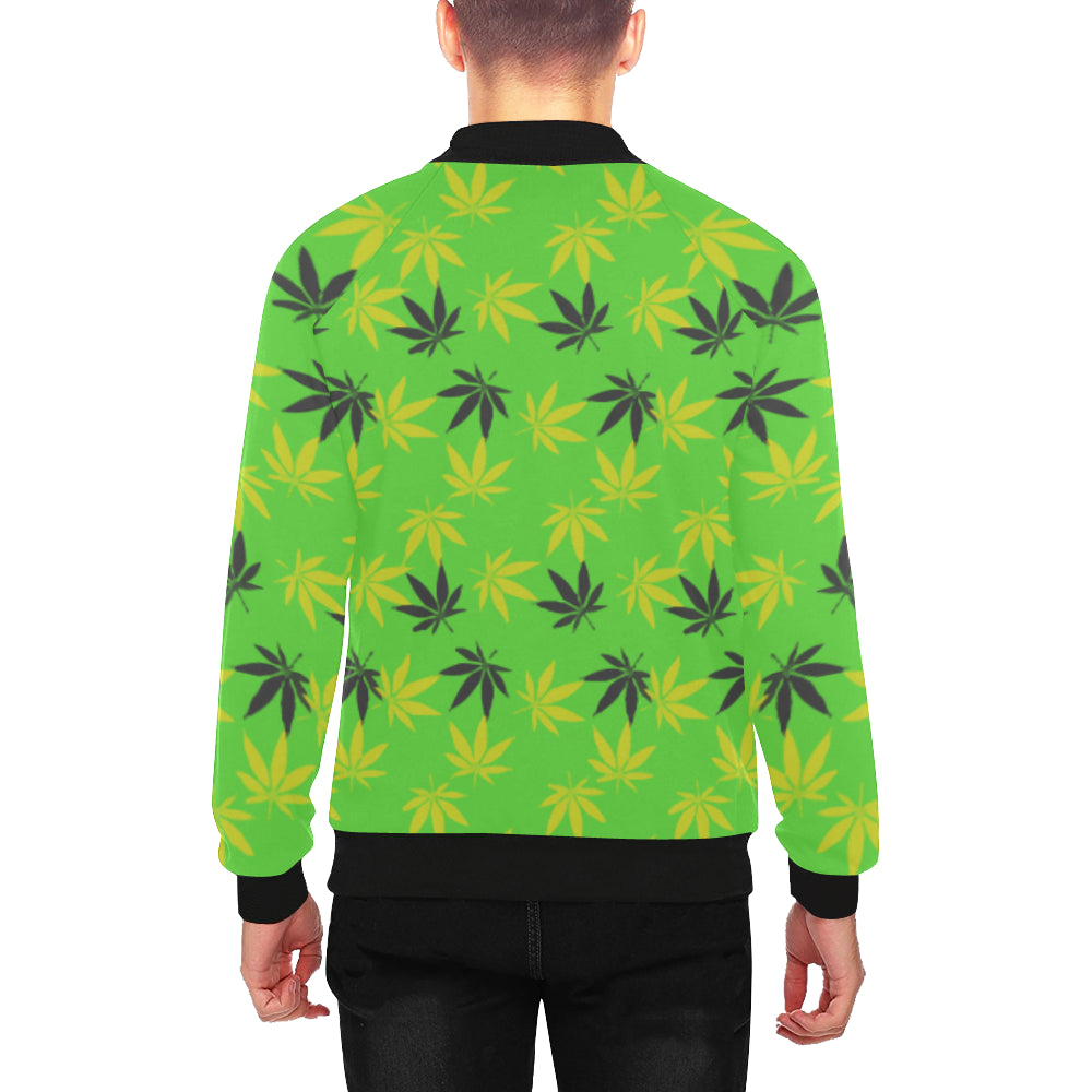Jamaica Haze Men's Baseball Jacket
