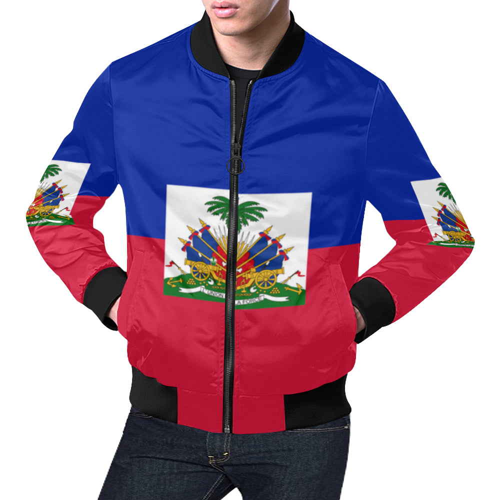 Haiti Born Men's Bomber