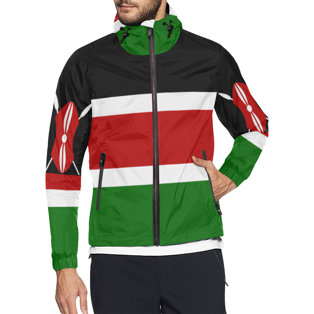 Kenya Born Windbreaker