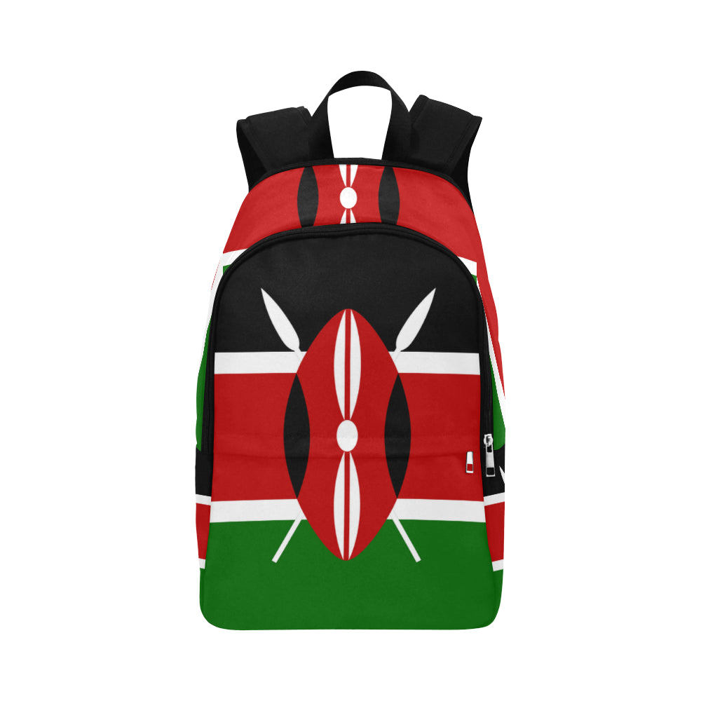 Kenya Bred Fabric Backpack