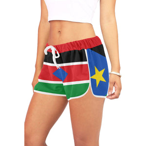 South Sudan Born Women's Relaxed Shorts