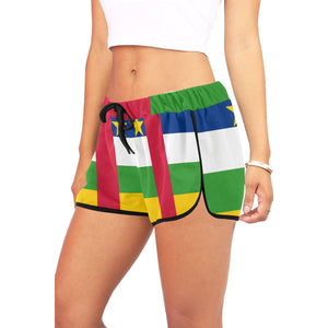 Central African Republic  Women's Relaxed Shorts