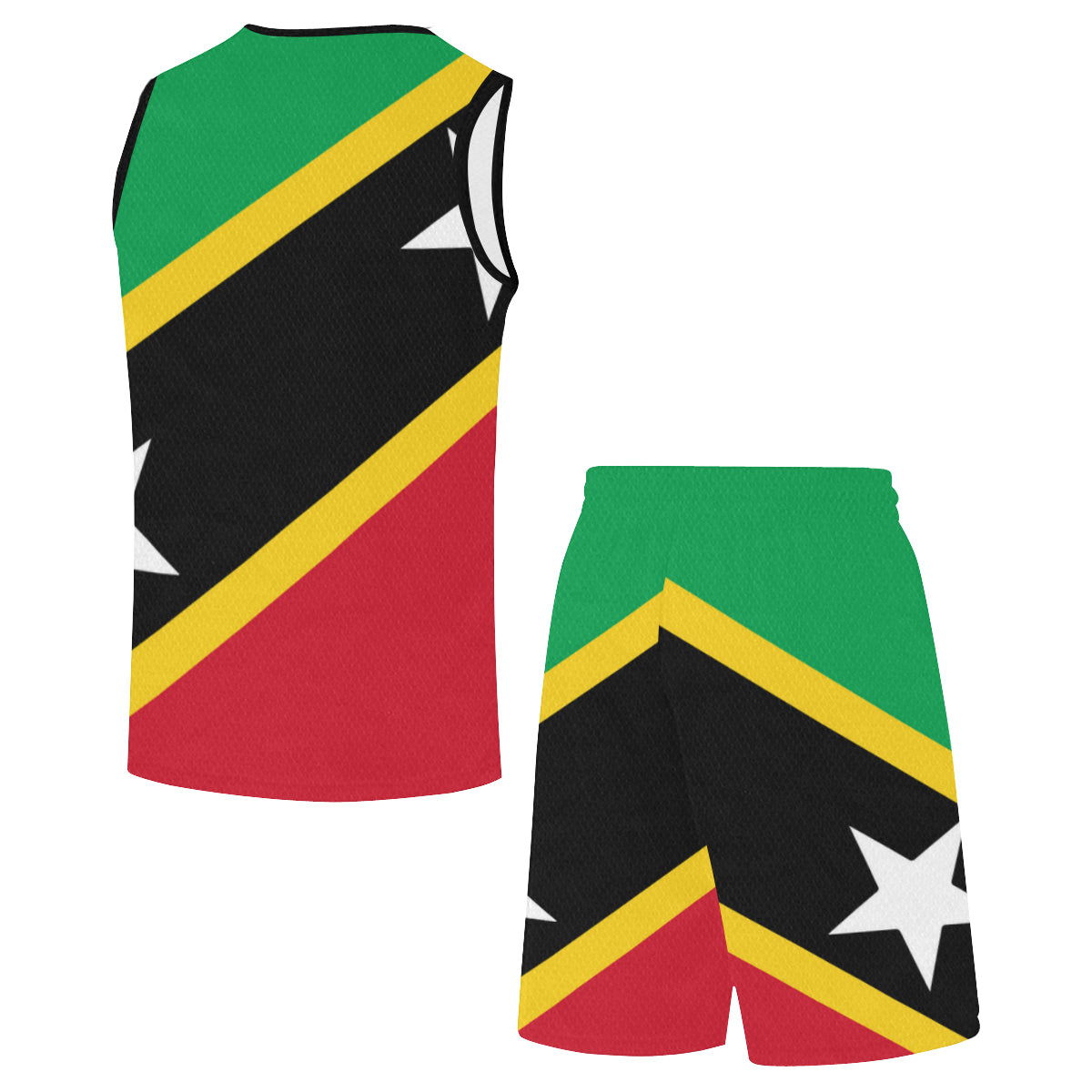 St. Kitts BornRise+Defend Basketball Uniform
