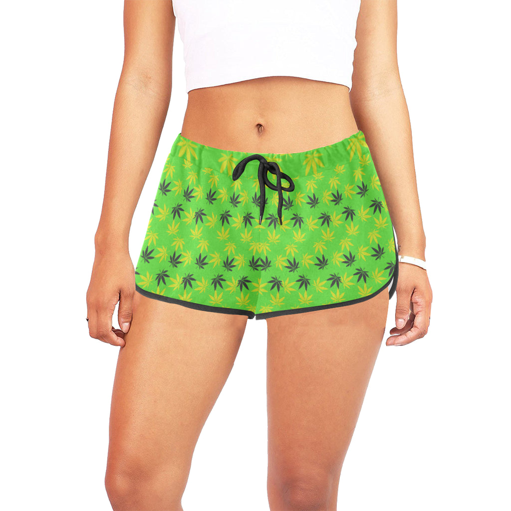 Jamaica Bred Bud Women's Relaxed Shorts