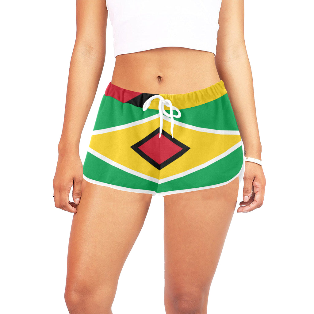 Guyana Born Women's Relaxed Shorts