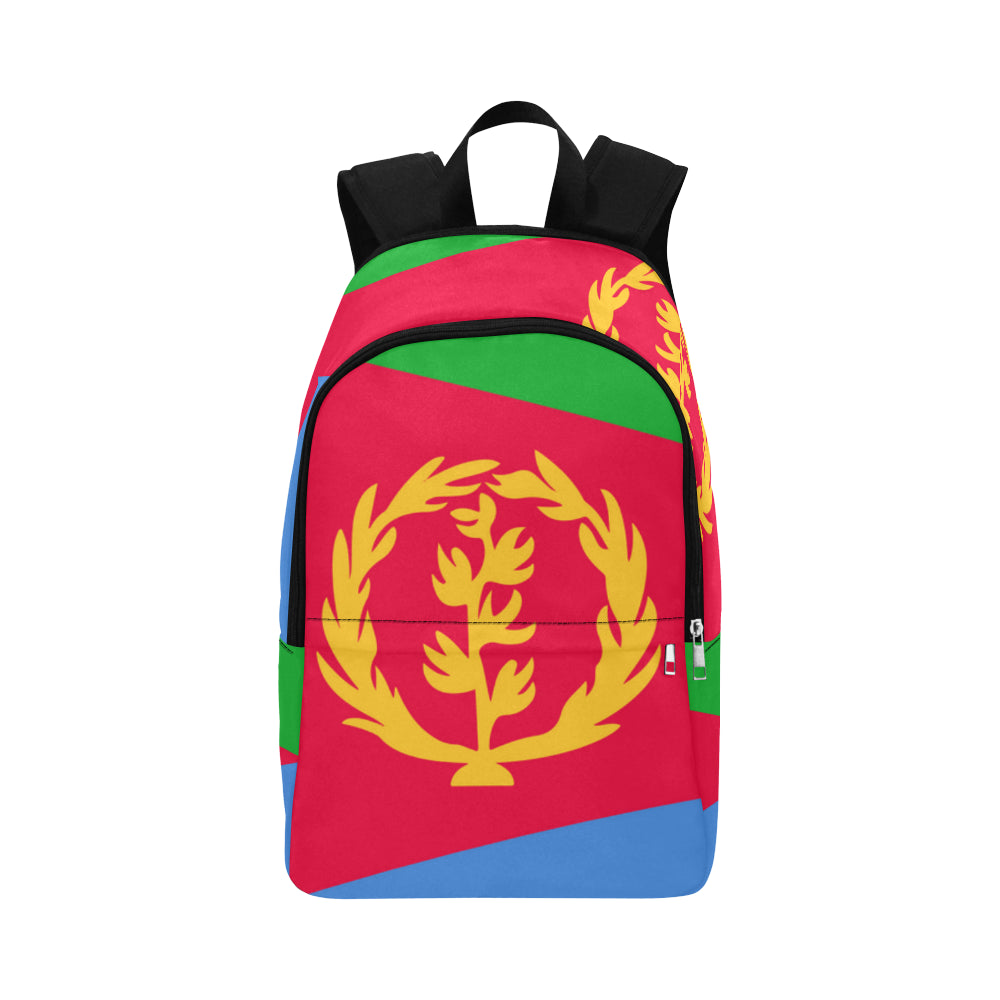 Eritrean Born Fabric Backpack