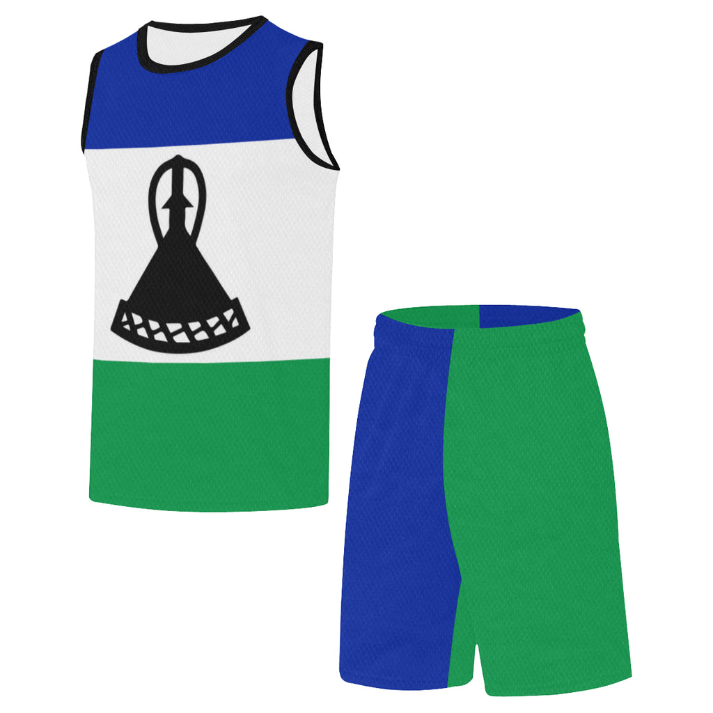 Lesotho Born Rise+Defend Basketball Uniform