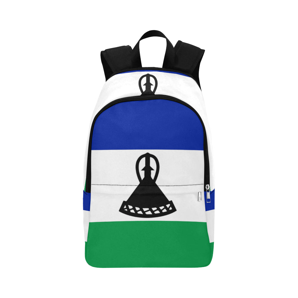 Lesotho Born Fabric Backpack