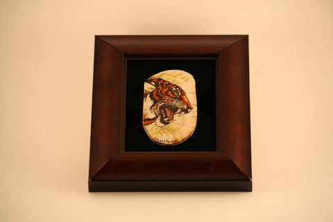 Shadow Box of Tiger Profile