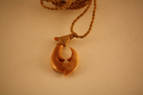 Fossil Walrus Hook Necklace