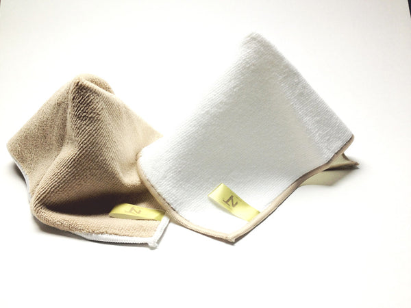 Nano Tech Reusable Face and Body Cloths (set of 2)