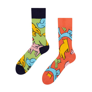 Good Mood Cats & Dogs Socks