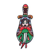 Load image into Gallery viewer, Russian Doll Dagger Patch x Hannah Purnell